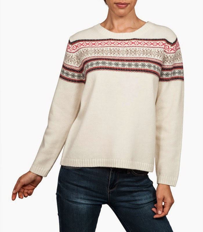 Woolovers Ladies Fair Isle Jumper