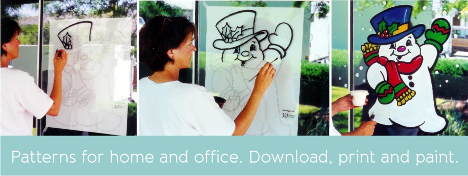 Window Painting Made Easy