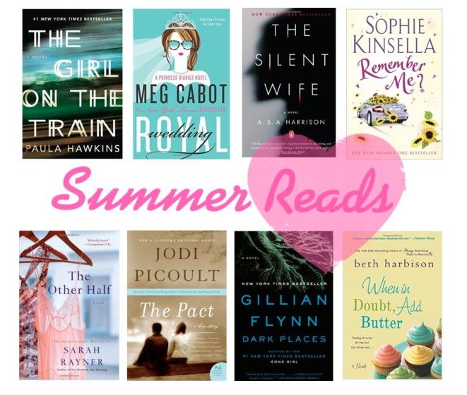 Your Must Have Summer 2015 Reading List