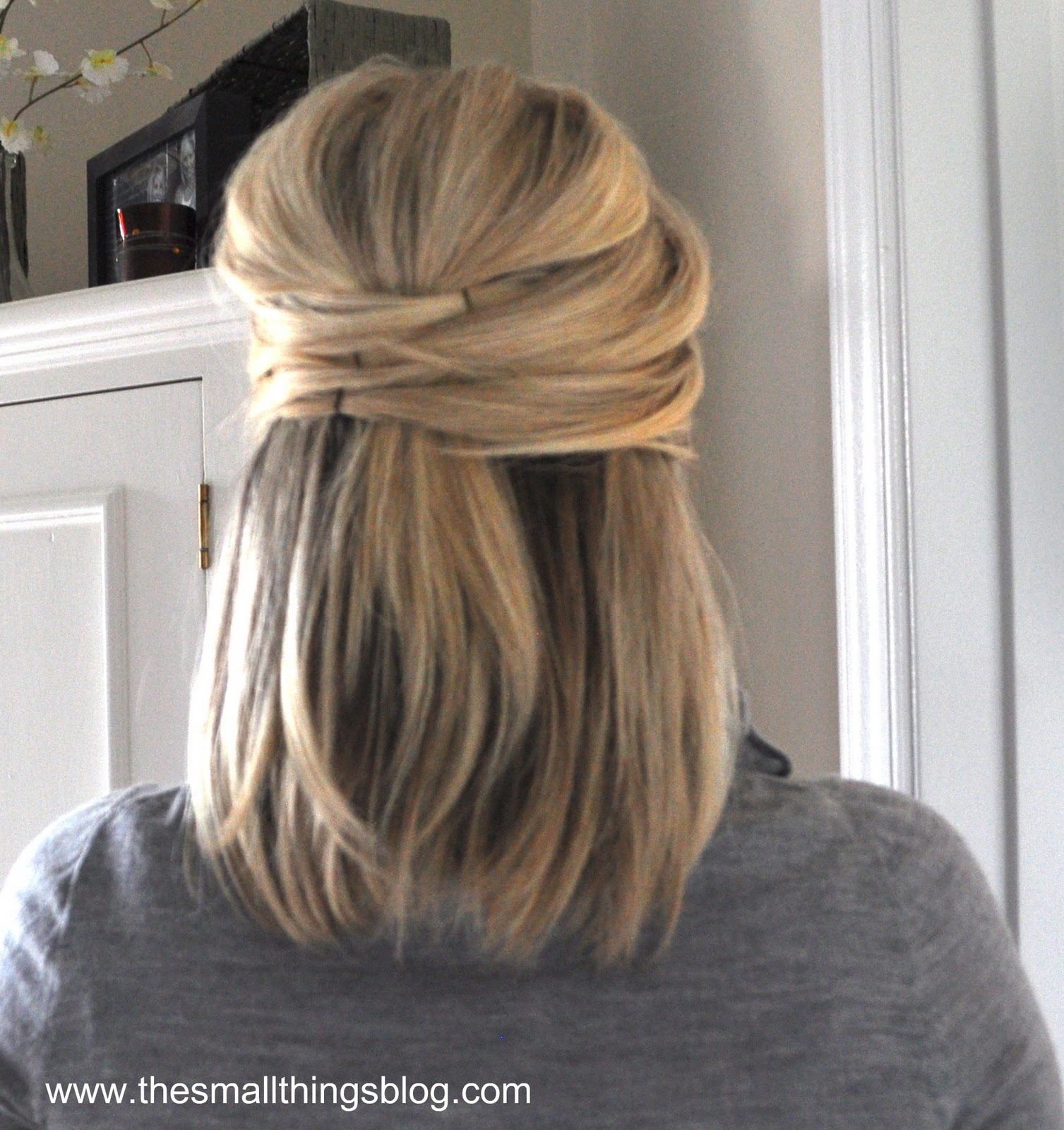 Half Up Wedding Hair Ideas: The Small Things Blog