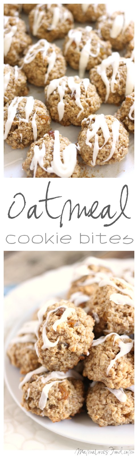 Flourless Oatmeal Cookie Bites