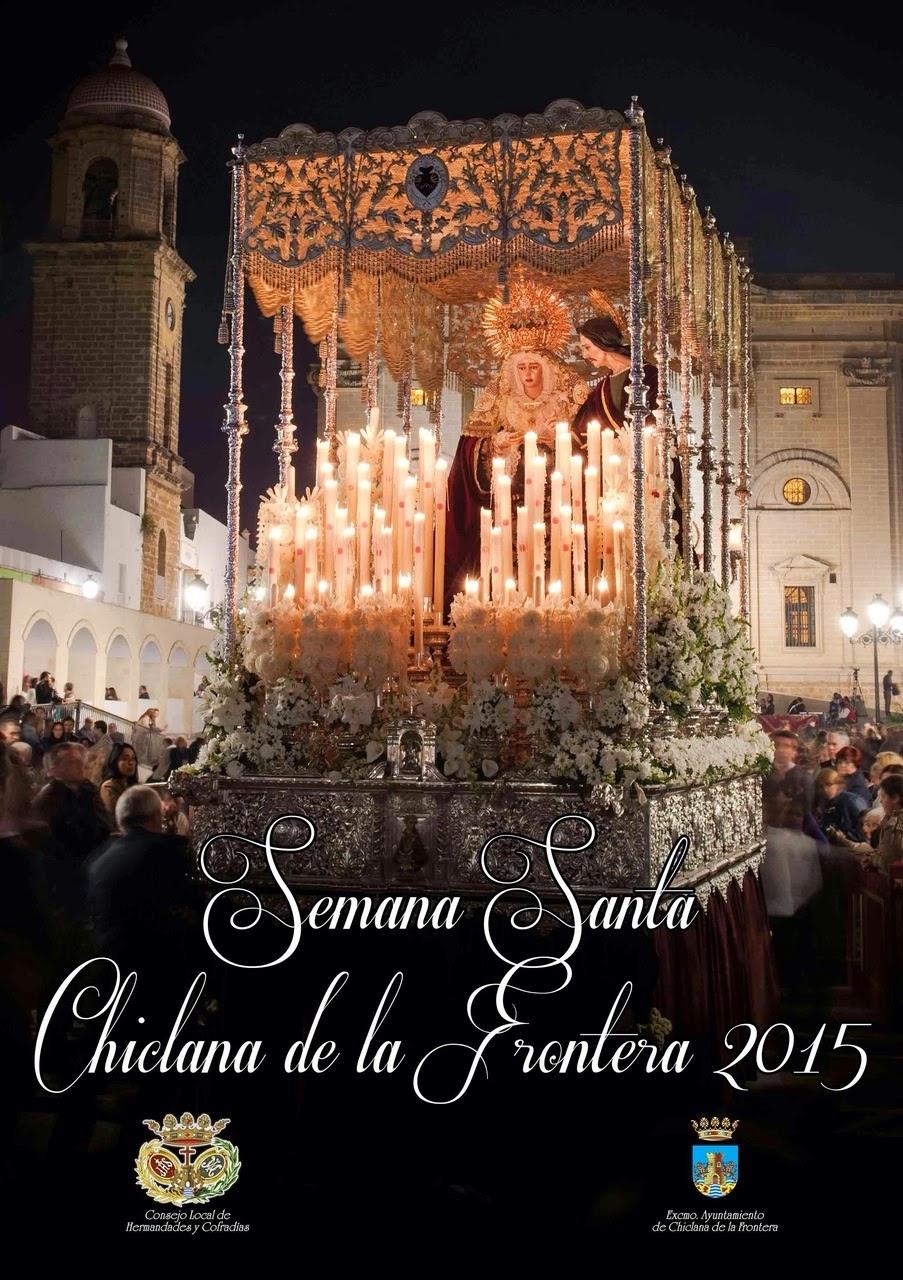 Cartel oficial de Chiclana 2015.