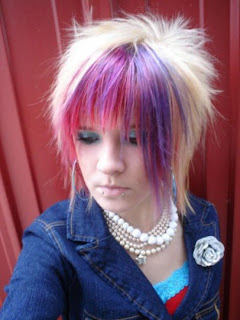 Scene Kid Hairstyles, Scene Girls Emo Hair Photo Gallery