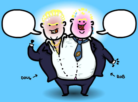 The Doug And Rob Ford Caption Contest
