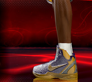 Nike Zoom Kobe VI NBA 2K12 Edition