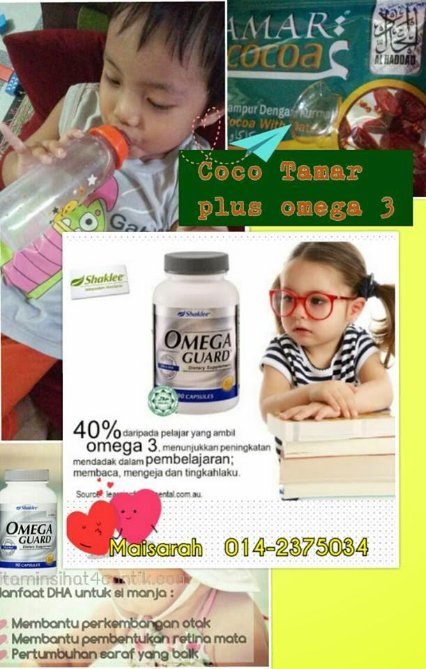 omega 3 untuk kanak2