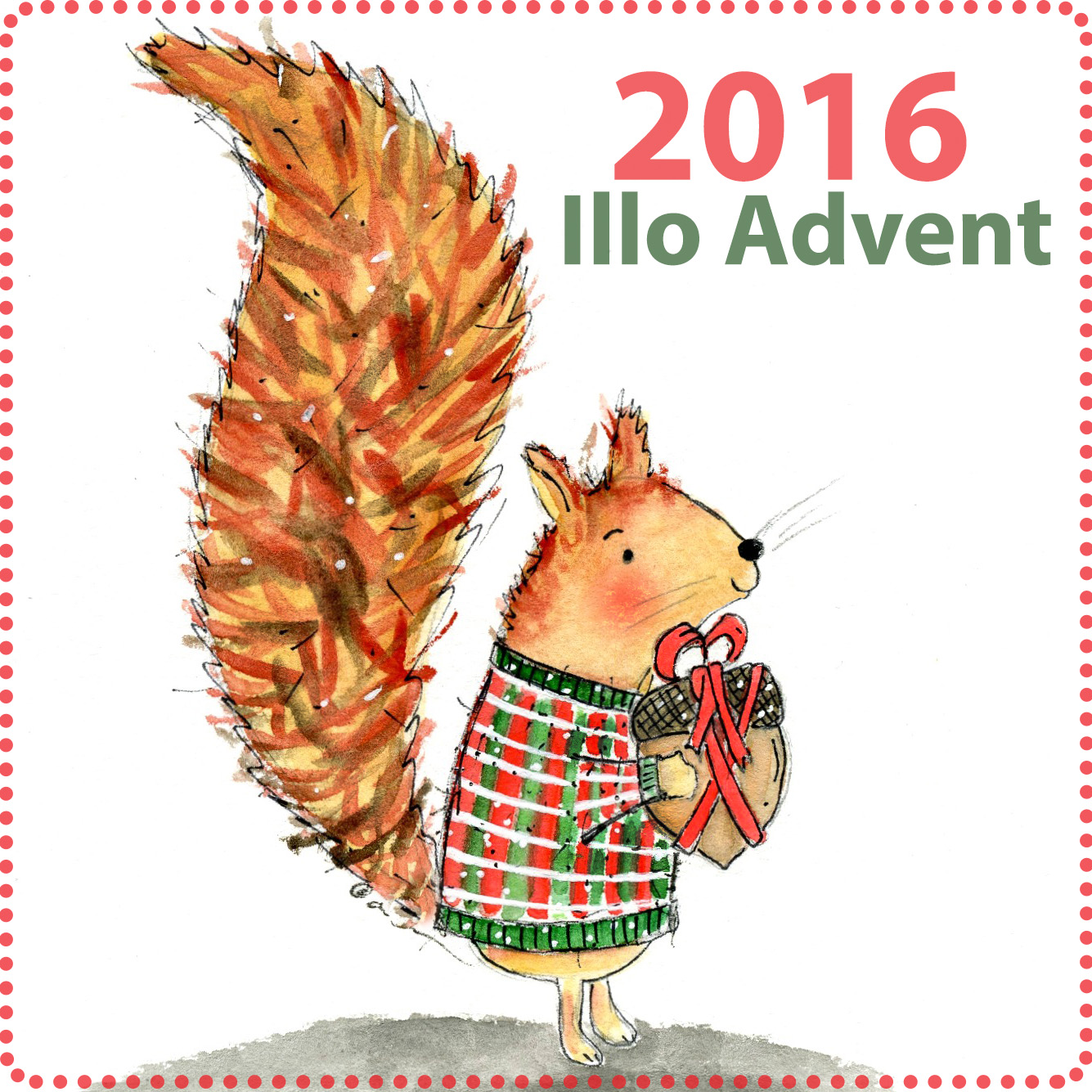My 2016 Christmas Illo Advent