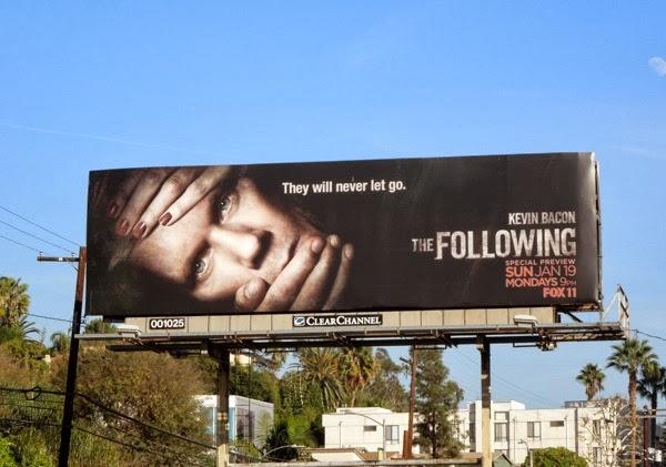 The Following season 2 billboard