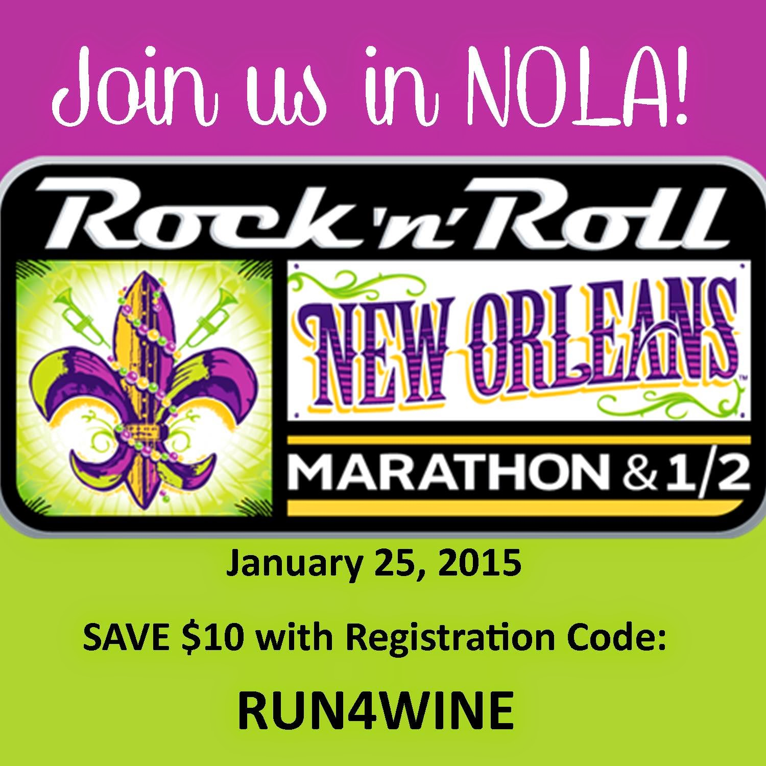 Save $10 at Rock n Roll New Orleans!