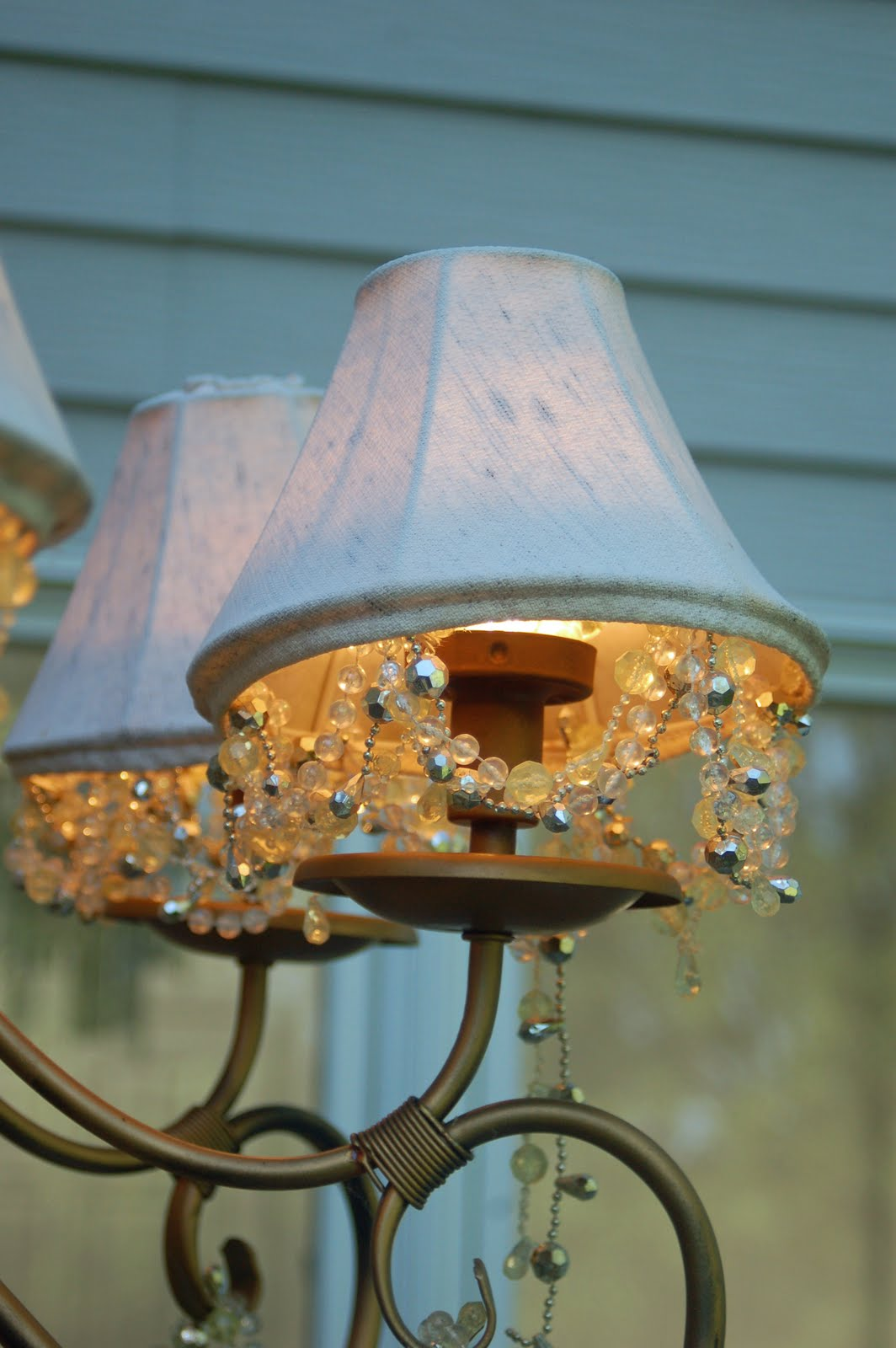 Chandelier Shade And Beads