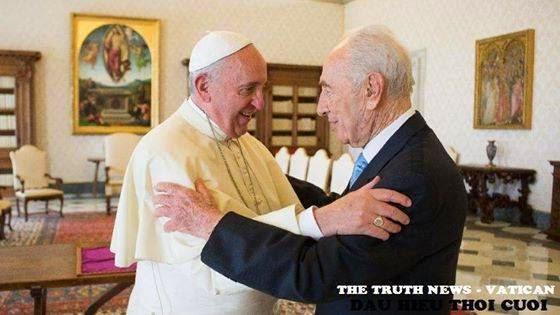 Tin khẩn: Cựu tổng thống Israen đề xuất thiết lập 'liên tôn giáo' với Đức Giáo Hoàng Francis