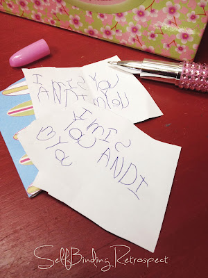 love letter, child