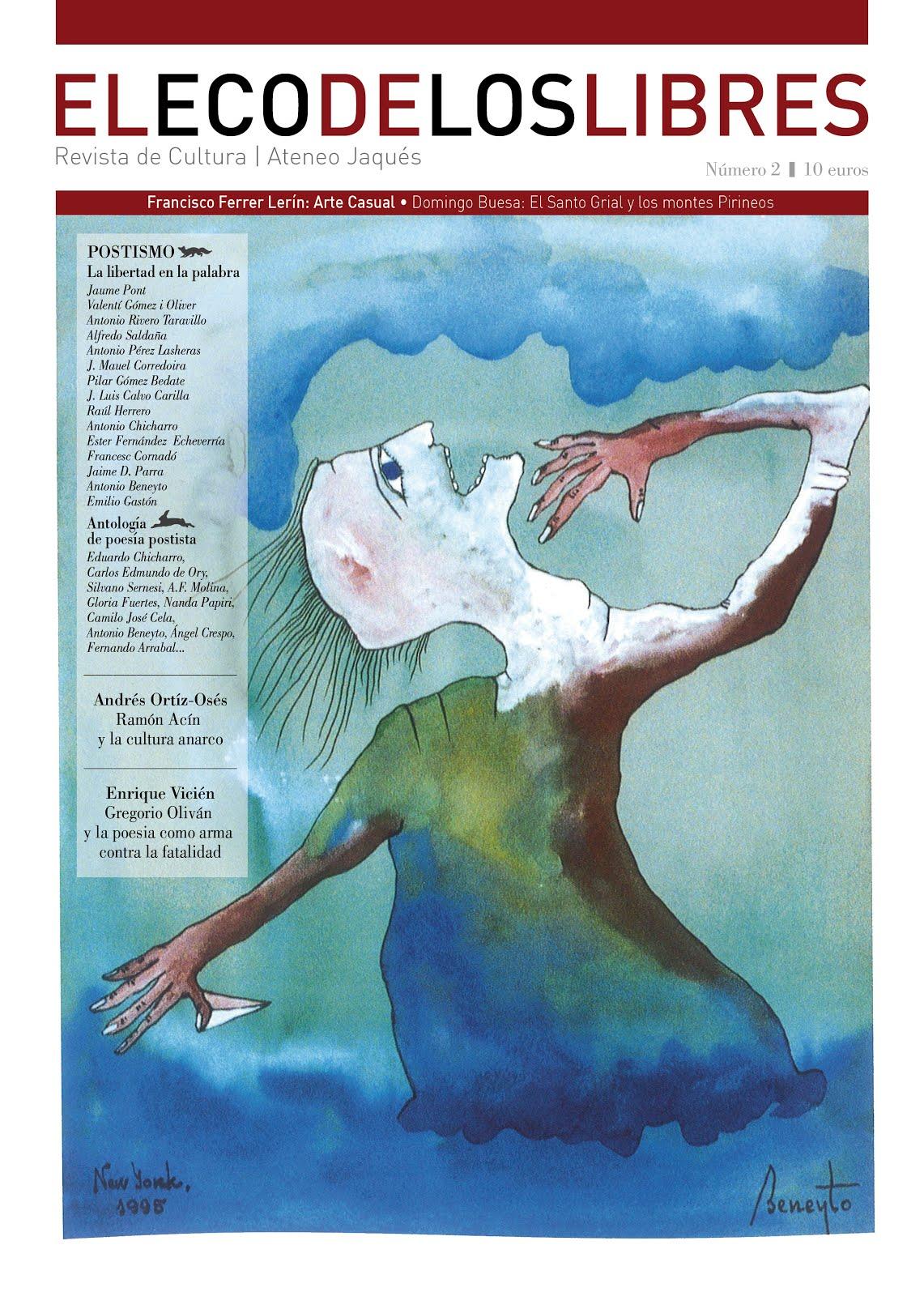 """Nº2 """"EL ECO DE LOS LIBRES"""" (Dossier dedicado al POSTISMO)"""