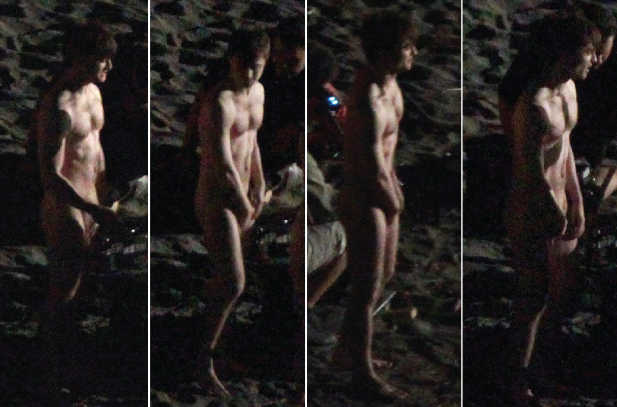 nude daniel radcliffe jungle