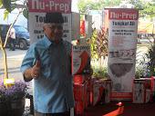 Tn M Redza Baba,DOA Malaysia Sebillion Terima Kasih MAHA NS 2012 dari Nu-Prep 100 US,EUpatent