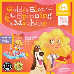 Goldieblox kit giveaway December 2013