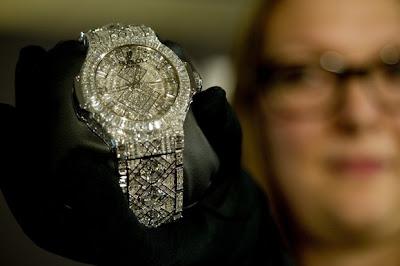 شاهد و تعرف علي أغلى ساعة سويسرية في العالم