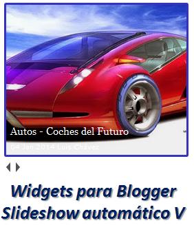 Widgets para Blogger – Slideshow automático V