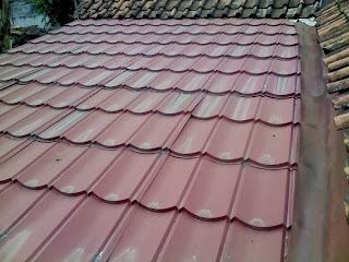 Contoh atap galvalum