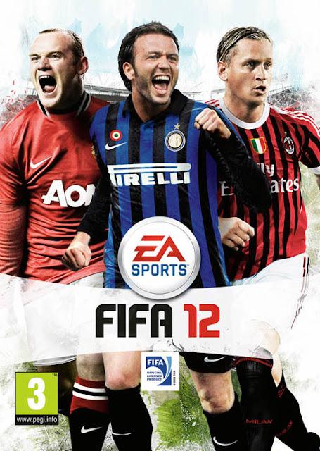 FIFA 12 Pazzini Mexes Rouney