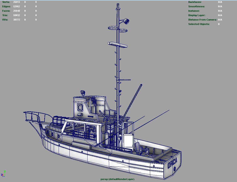 Orca model boat plans ~ Fibre boat