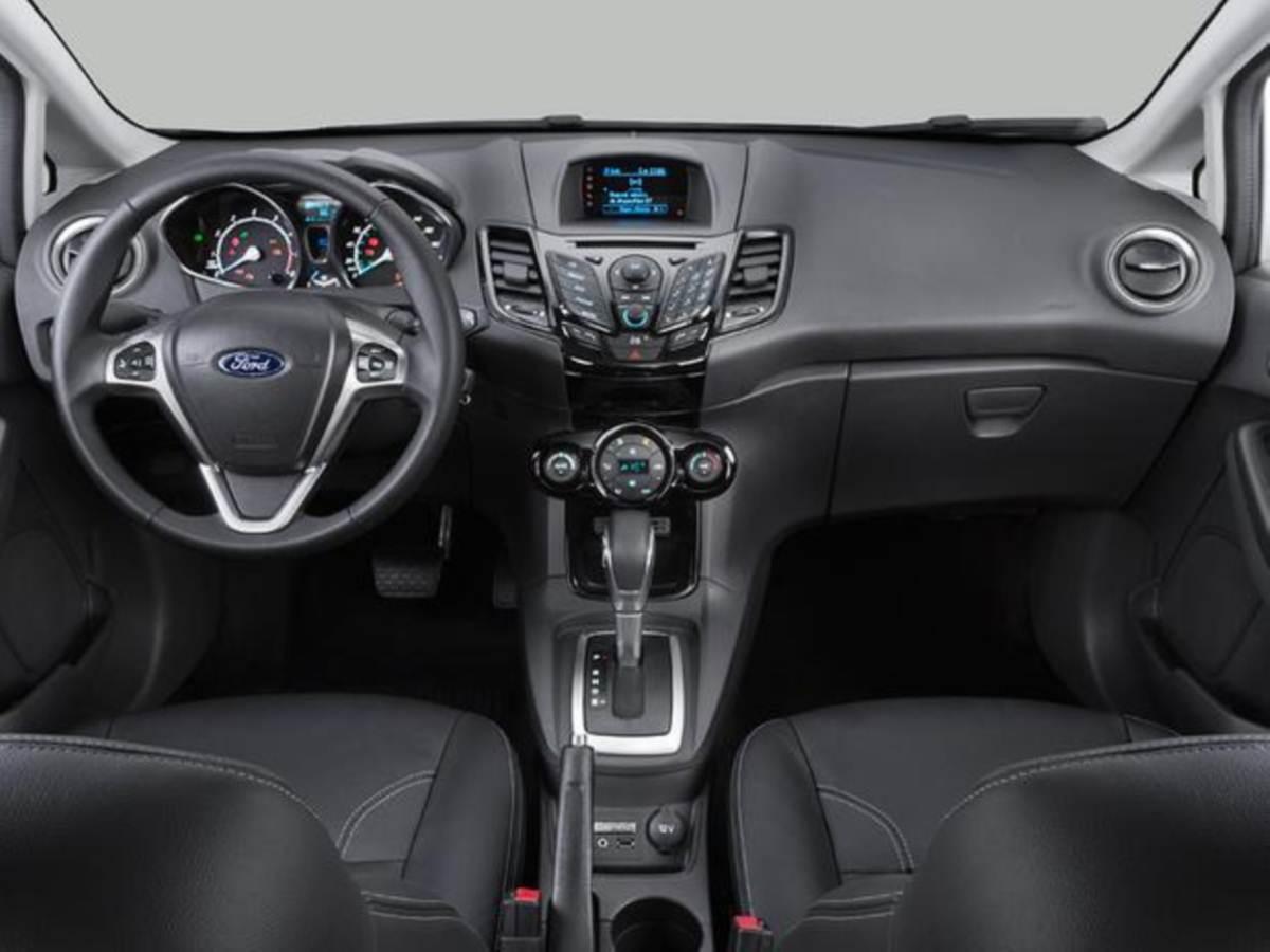 Ford new fiesta 2014 autom tico fotos pre o consumo e for Interno j