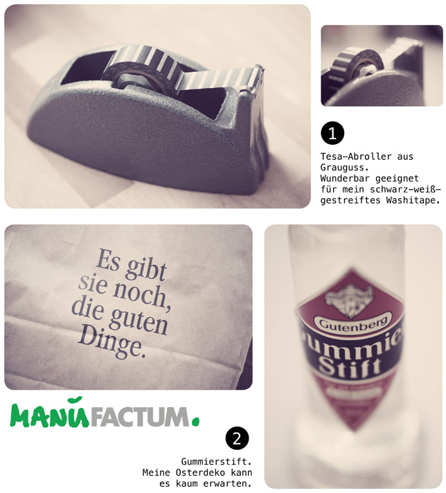 Ynas Design Blog, Manufactum