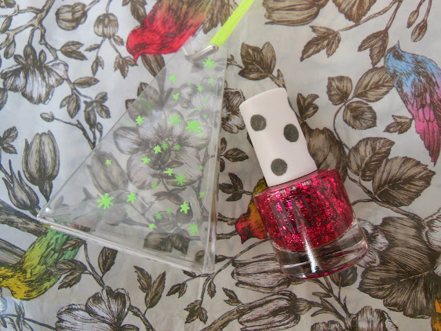 Topshop Christmas nail polish tree decoration