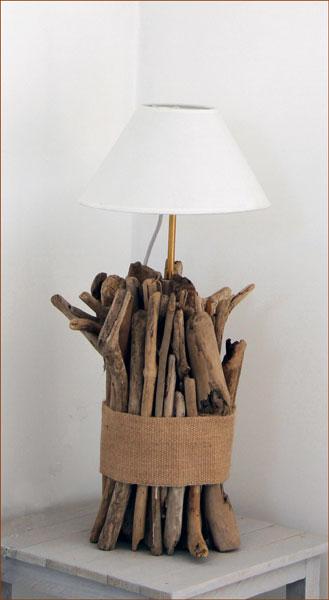 Bois flott bricolage recup recyclage deco marine le for Realisation bois flotte