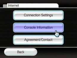 how to find wii u ip address