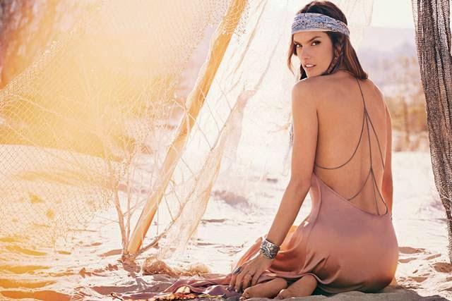 """Alessandra Ambrosio – """"Planet Blue"""" Campaign 2014"""