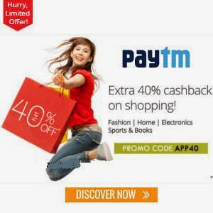 Paytm: Buy Electronics, Fashion, Books, Home, kitchen and fitness upto 70% off with upto 50% cashback