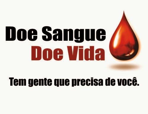 Salve vidas, doe sangue! Procure na sua cidade uma instituição e faça doação.