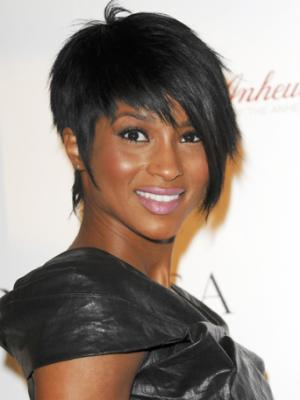 Ciara new cropped haircut