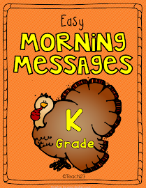 Morning Messages: Kindergarten