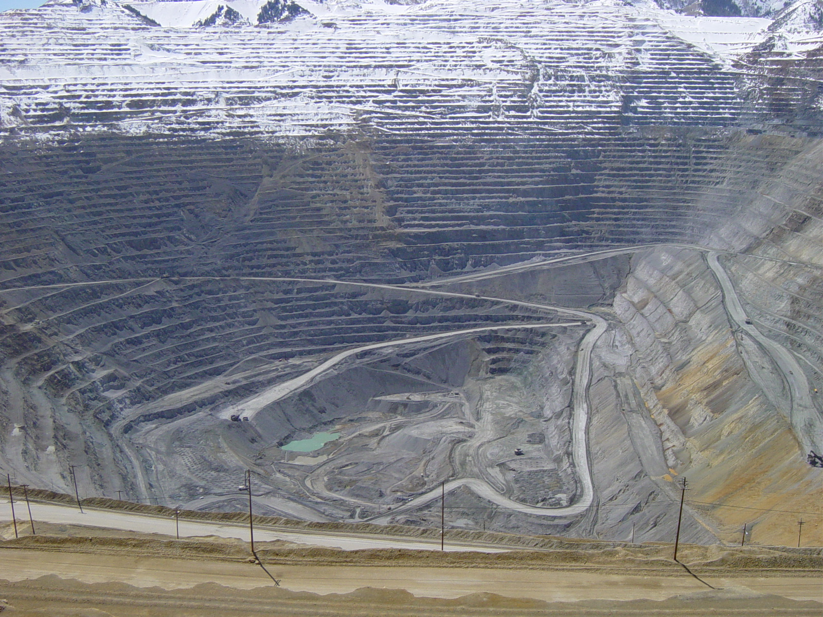 Does open pit mining affect environmental careers
