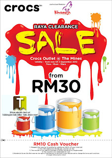 CROCS Raya Clearance Sale 2012