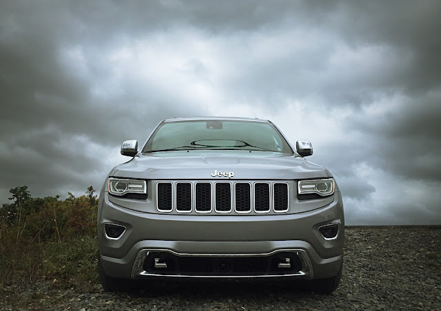 2015 Jeep Grand Cherokee EcoDiesel Overland front