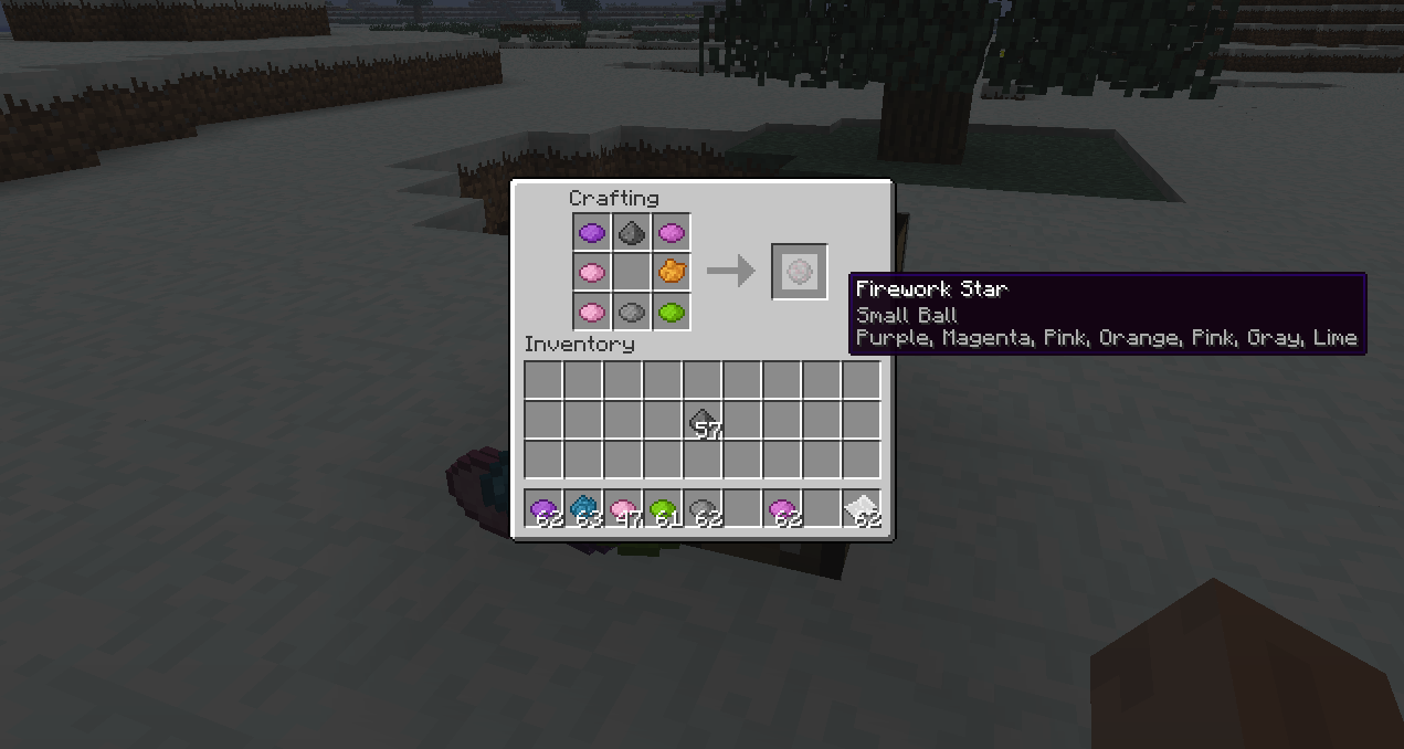 minecraft wiki how to make firework stars