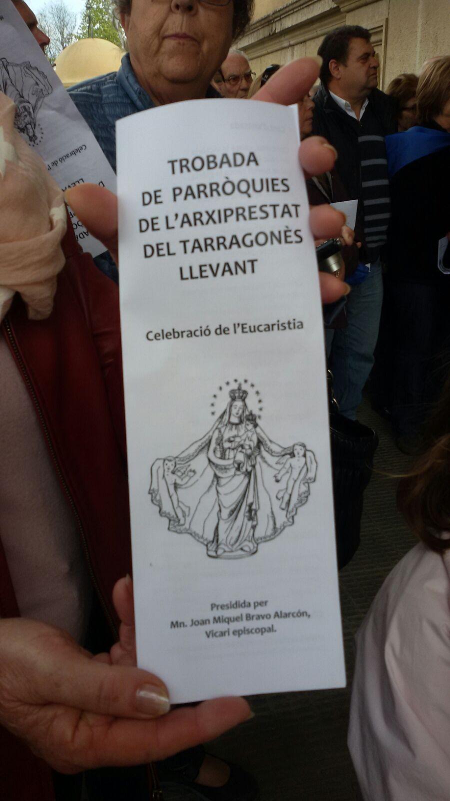 Peregrinació Tarragonés Llevant (10-4-2016)