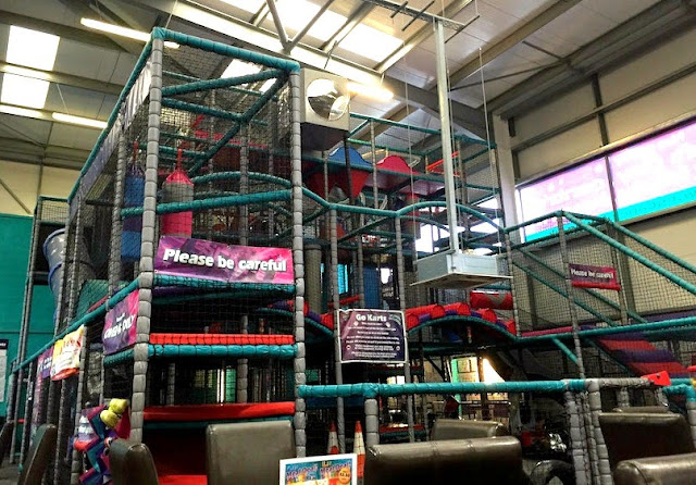 Morgan's Milieu | Escape Soft-Play Centre Review: The Over 4s Area in Escape.