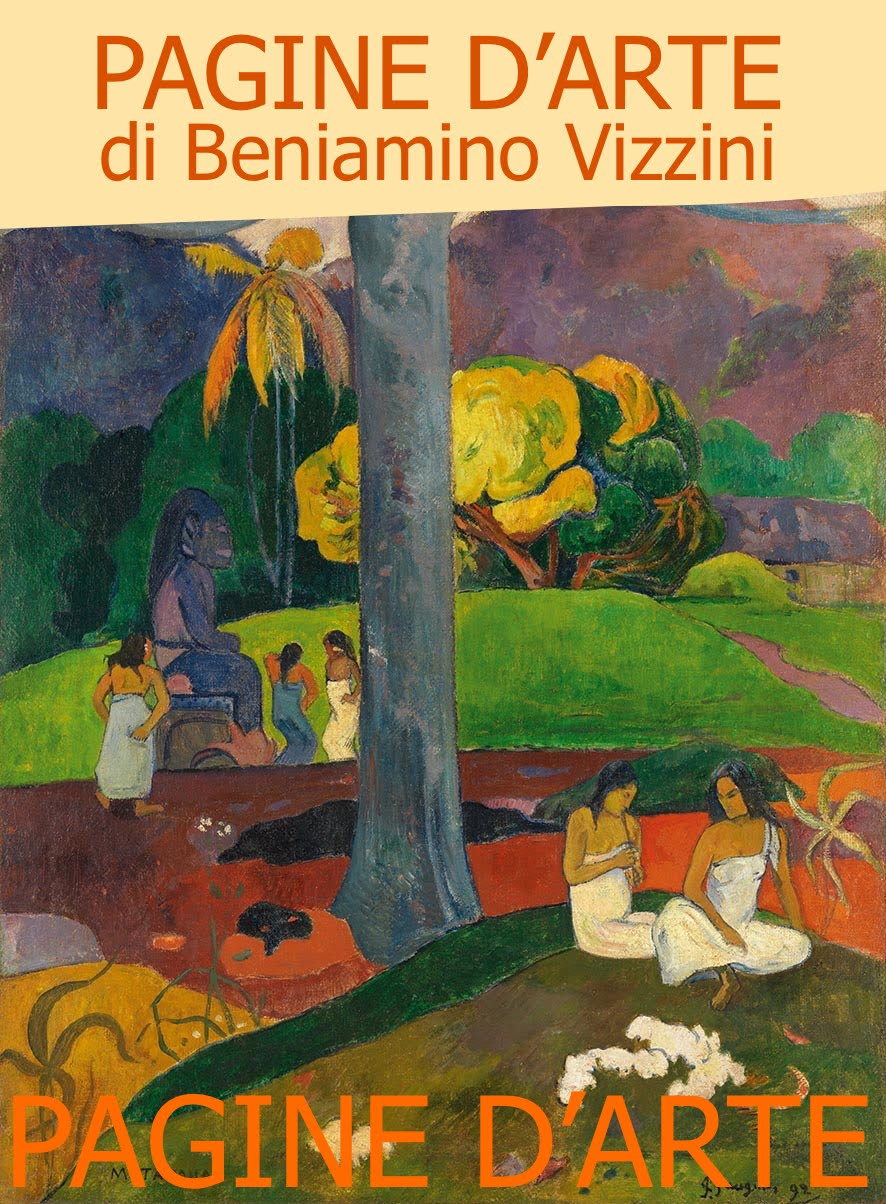 <br>LE PAGINE D&#39;ARTE DI BENIAMINO VIZZINI sono dedicate ad ARTISTI e MOSTRE in Italia e all&#39;estero: