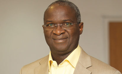 Minister of Power, Road and Works, Babatunde Fashola