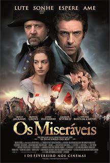 """Poster do filme """"Os Miseráveis"""""""