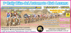 1º Rally Bike del Automoto Club Lezama