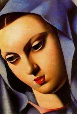 Tamara de Lempicka Vierge bleue