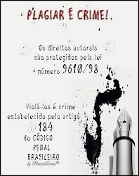 PLAGIAR É CRIME