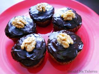 muffiny muffinki z fasoli fasolowe z orzechami z cynamonem