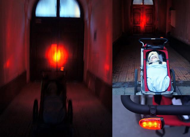 chariot plus energizer bike light