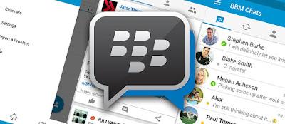 BBM (Official) Material Design Terbaru Untuk Semua Android